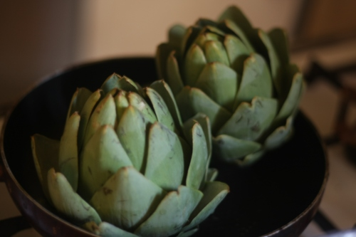 artichokes, the loveliest food