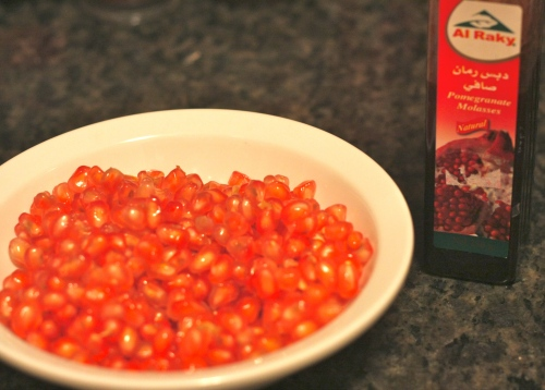 i'll have pomegranate everything