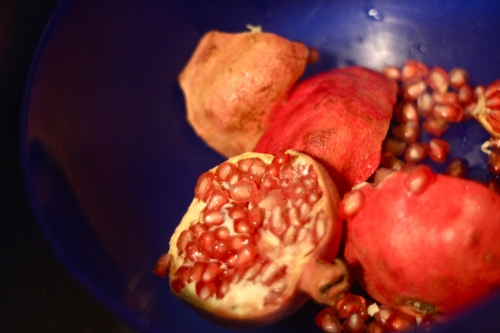 you can never have too many pomegranate photos