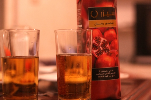 beer + pomegranate = health wealth and happiness