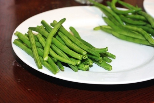 green beans: always a good option