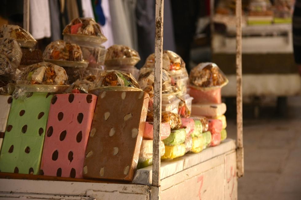 dried fruit & pistachio candy