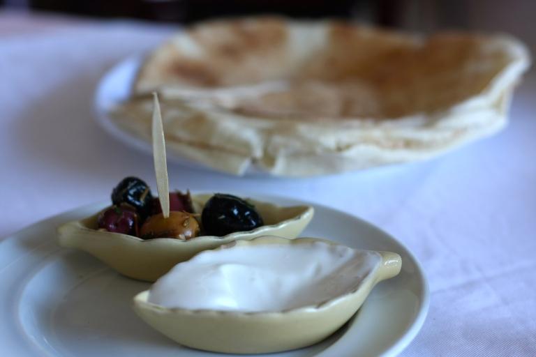 olives & toum